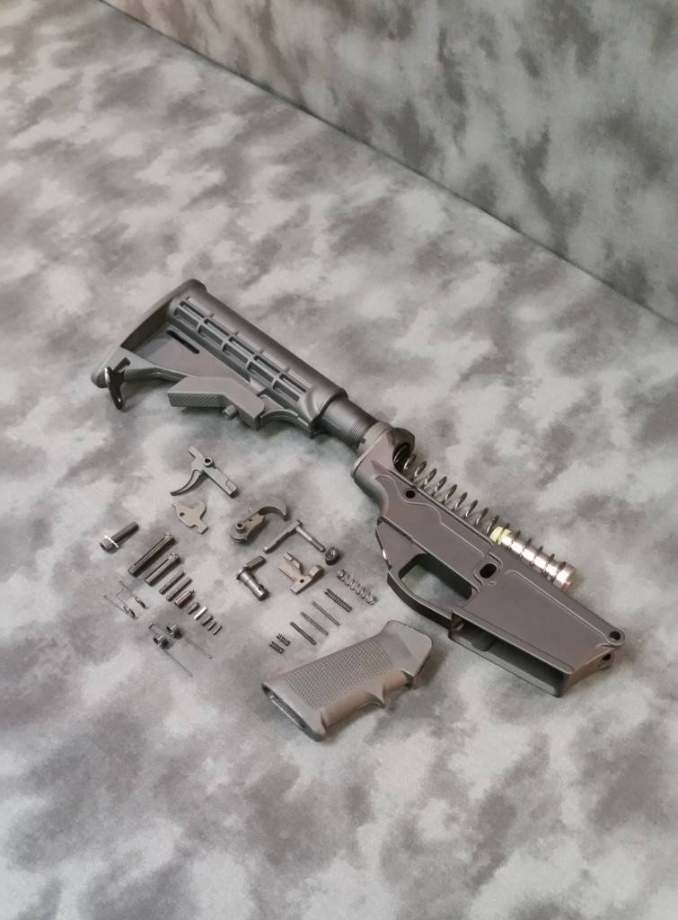 80% DPMS LR .308 LOWER RECEIVER KIT