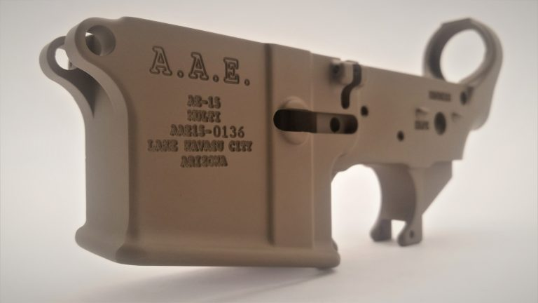 A.A.E. AE-15 FORGED LOWER RECEIVERS