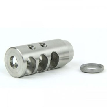 5/8-24 STAINLESS STEEL MUZZLE BRAKE