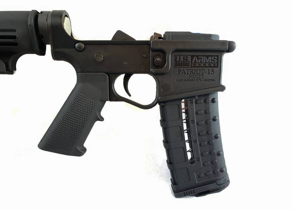 U.S. ARMS® PATRIOT-15® COMPLETE POLYMER LOWER RECEIVER