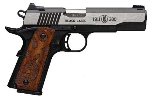 Browning 1911-380 BL MED 380ACP SS 8+1#