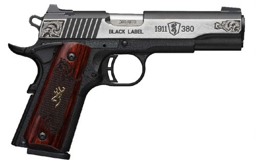Browning 1911-380MED ENG 380ACP SS CPT#