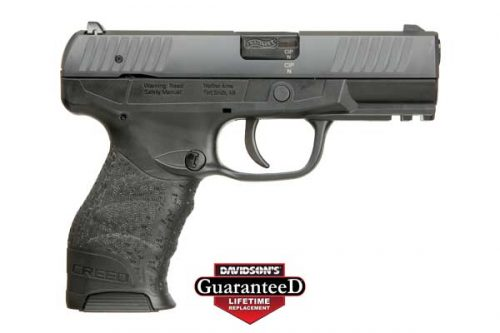 WAI CREED 9MM PST 4B BLK 16RD