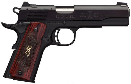 Browning 1911-22 MED 22LR BL 4.25″ 10+1
