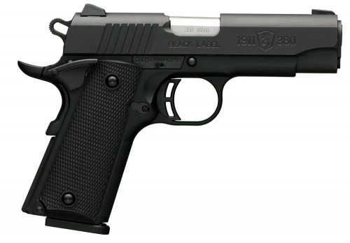Browning 1911-380 380ACP CMPT BLK/POLY