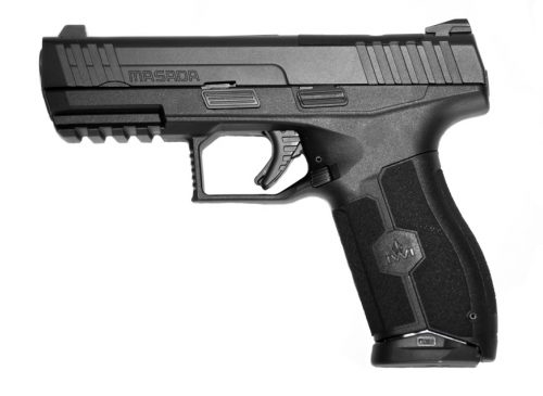 IWI – Israel Weapon Industries MASADA OR 9MM POLY 4″ BLK 17+1