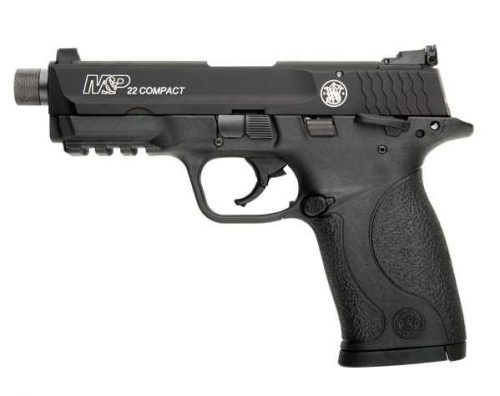 Smith and Wesson M&P22 COMPACT 22LR THREADED