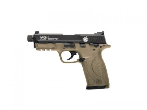 Smith and Wesson M&P22 COMPACT 22LR FDE THREAD