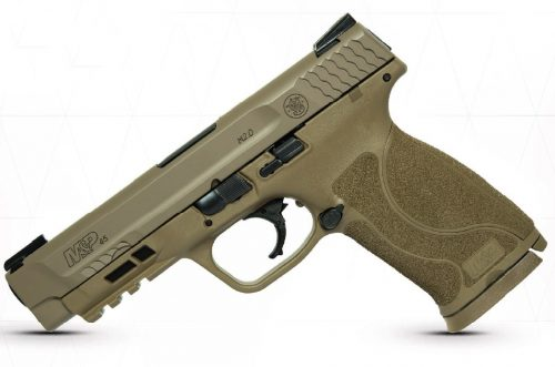 Smith and Wesson M&P45 M2.0 FDE 45ACP 4.6″ TFX