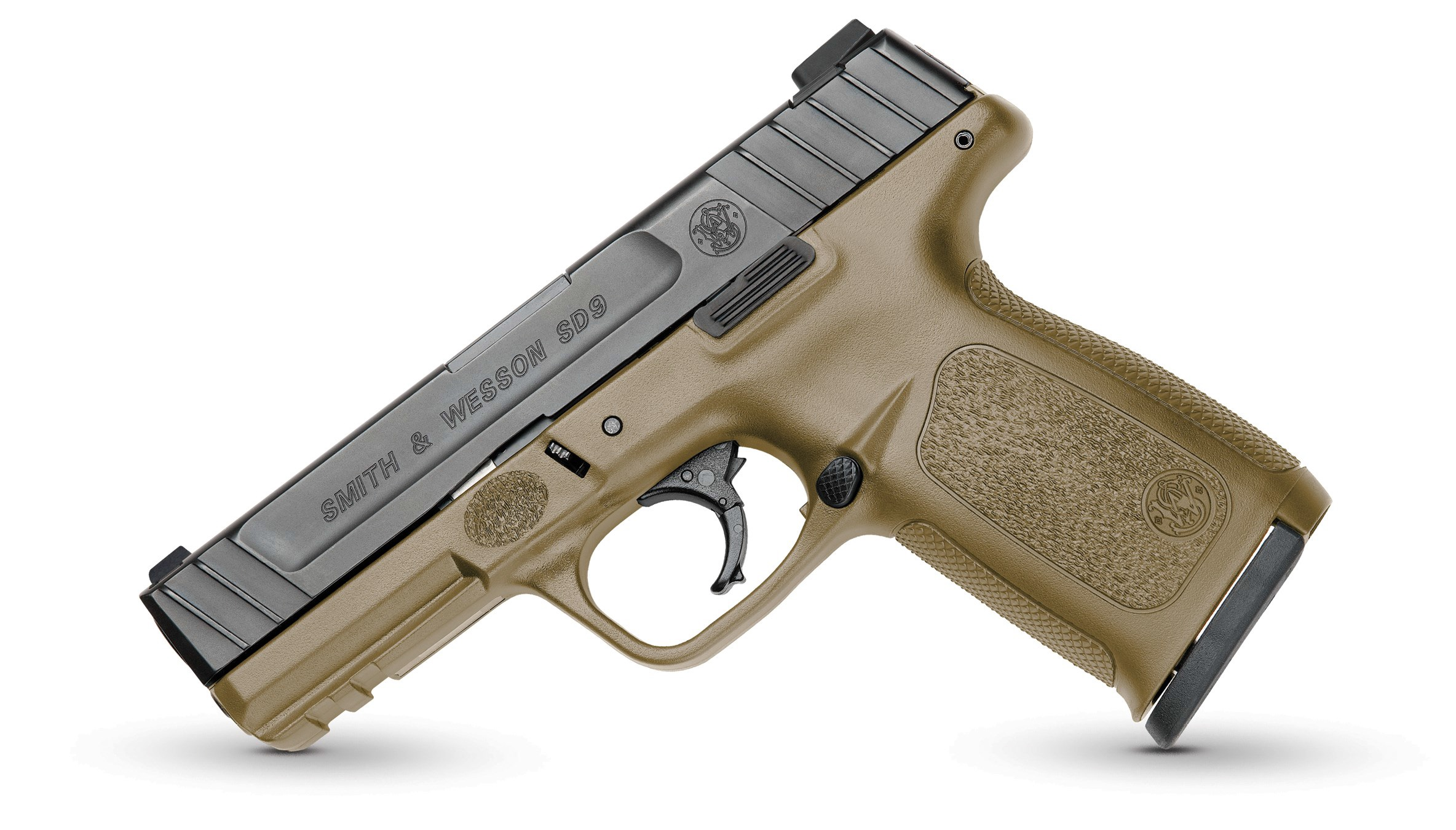 Smith and Wesson SD9VE 9MM 16+1 4″ BLK/FDE FS