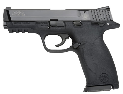 Smith and Wesson M&P22 22LR 10+1 AMB SFTY 4.1″