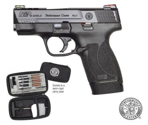 Smith and Wesson M&P45 SHIELD M2.0 45ACP HIVIZ