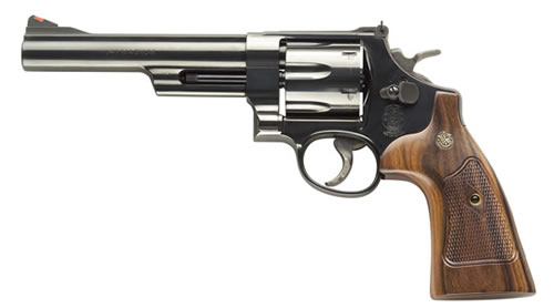 Smith and Wesson 57 41MAG 6″ BL/WD 6RD AS