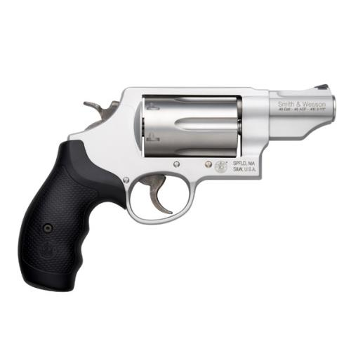 Smith and Wesson GOVERNOR 45/410 2.75″ SLVR 6RD