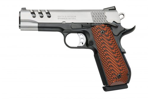 Smith and Wesson SW1911PCRB 45ACP 4.25″ SS FS