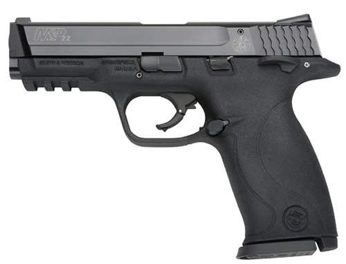 Smith and Wesson M&P22 22LR 12+1 AMB SFTY 4.1″