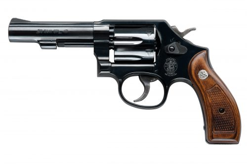 Smith and Wesson 10 38SPC 4″ BLUE 6RD FS