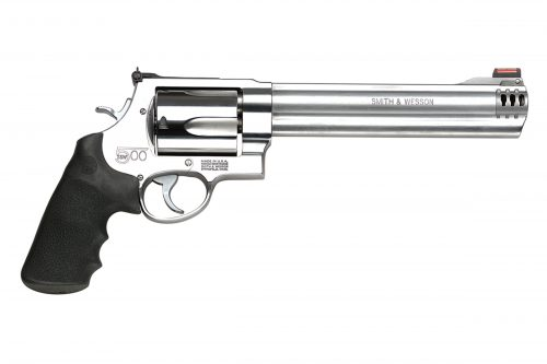 Smith and Wesson 500 500S&W MAG 8.38″ SS HIVIZ