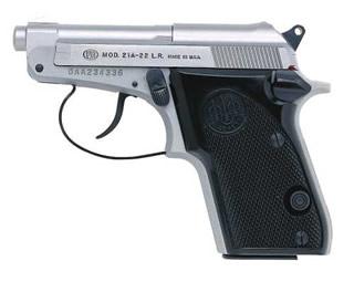 Beretta 21 BOBCAT INOX 22LR SS/BLK 7+1