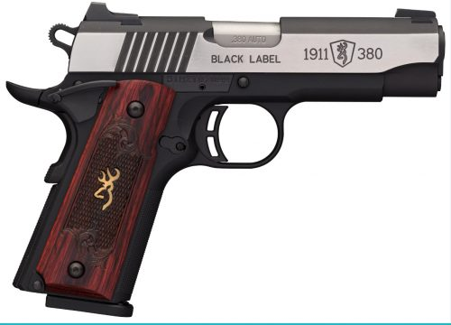 Browning 1911-380 MED CPT 380ACP SS NS