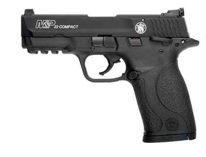 Smith and Wesson M&P22 COMPACT 22LR 10+1 3.56″