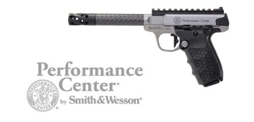 Smith and Wesson SW22 VICTORY TGT 22LR CRBN FBR