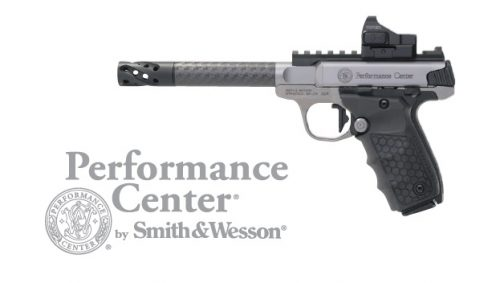 Smith and Wesson SW22 VICTORY TGT 22LR CF OPTIC