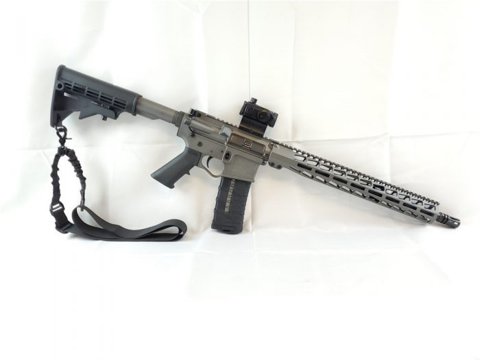 U.S. Arms Patriot-15 5.56 Tungsten Cerakote Rifle Package NEW! NO CC FEES!