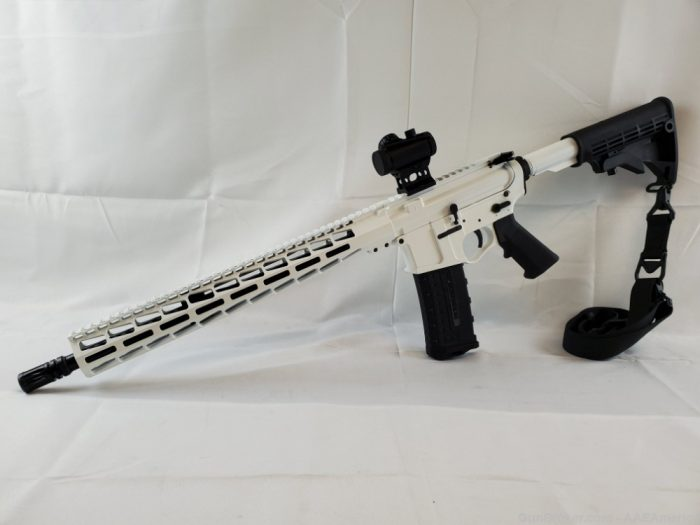 US Arms Patriot-15 Rifle Package Stormtrooper White Cerakote NEW!