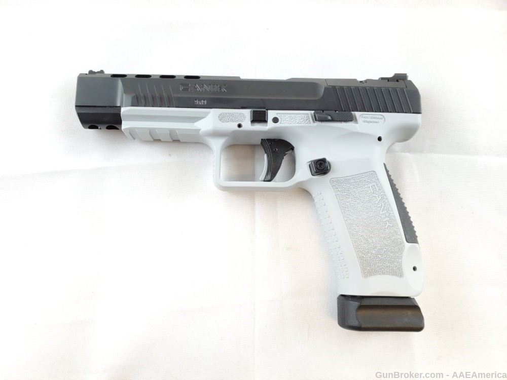Canik TP9SFX Black/White Throwback NO CC FEES!