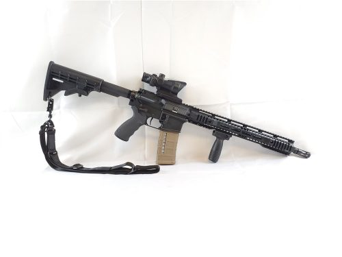 Bushmaster XM-15 with Trijicon Acog 4×32 Green Chevron NO CC FEES!