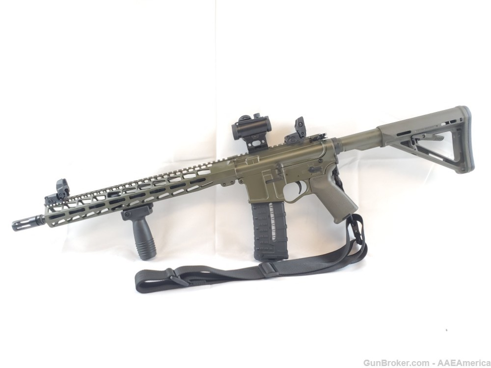 US Arms Patriot-15 Rifle Package OD Green Cerakote W/Upgrades NEW!