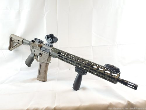 US Arms Patriot-15 Rifle Package FDE/OD Green Cerakote NEW!