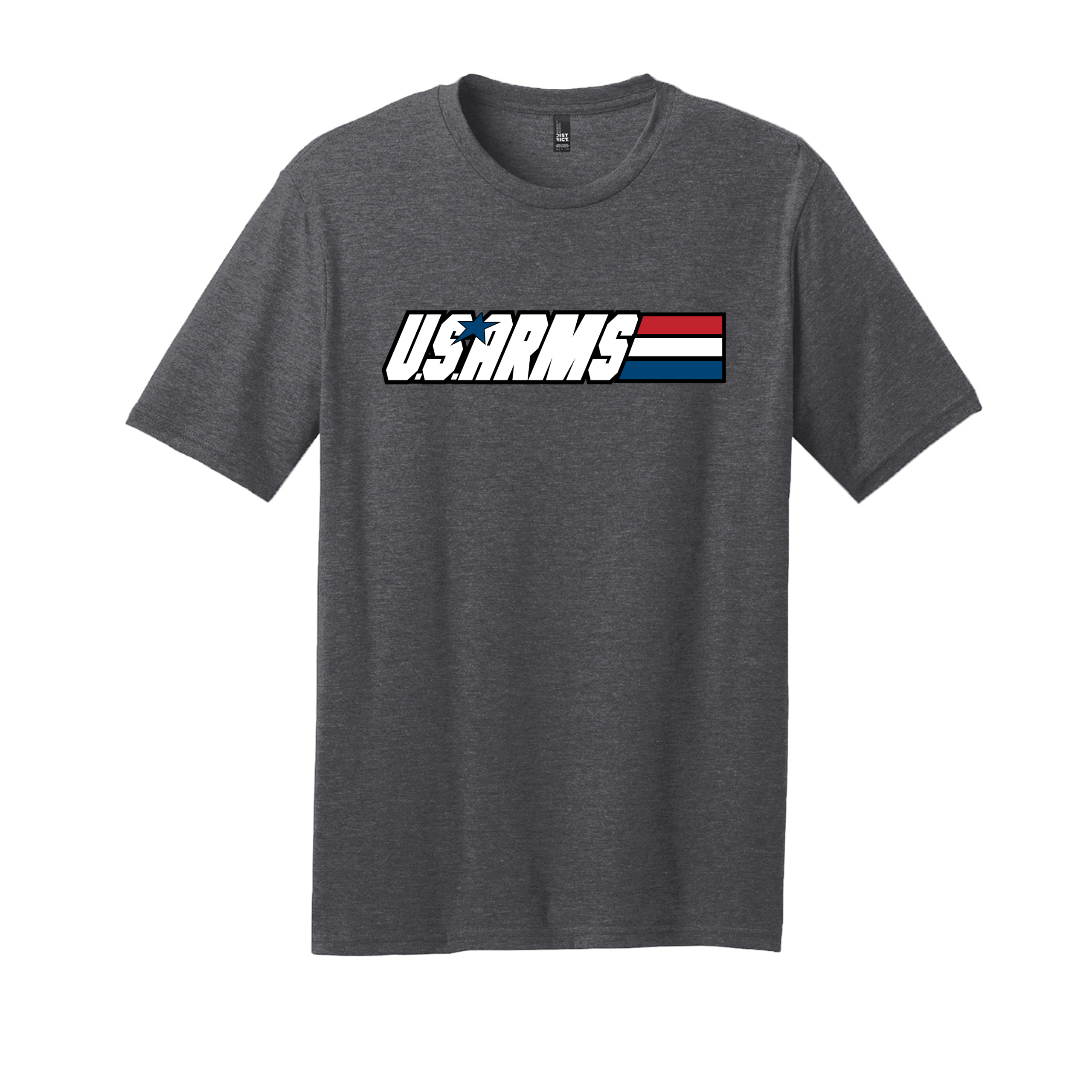 U.S. Arms – Small, Charcoal