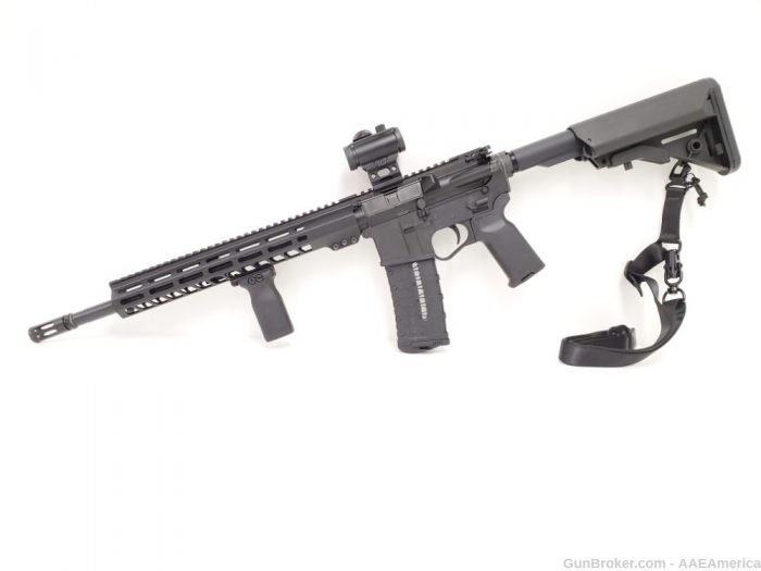 Private: U.S. Arms Patriot-15 5.56 Left Handed Range Ready Rifle Package