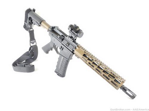 Private: U.S.Arms Patriot-15 10.5″ Pistol 5.56 Burnt Bronze Cerakote NO CC FEES!