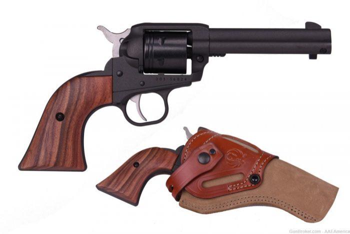 Private: Ruger Wrangler .22LR Cowpoke TALO Limited Edition Cobalt Cerakote & Holster
