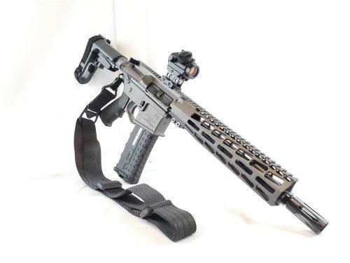 Private: U.S. Arms AR-15 10.5″ Pistol 5.56 Tungsten Cerakote New! NO CC FEES!