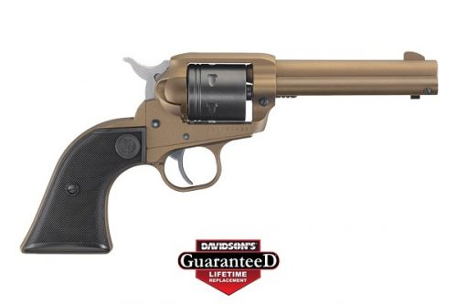Private: Ruger Wrangler .22LR Single Action 6RD Cerakote Burnt Bronze – Brand New!