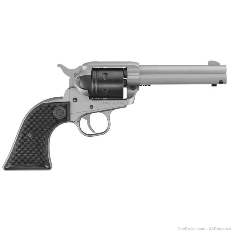 Private: Ruger Wrangler .22LR Silver Cerakote 4.62″