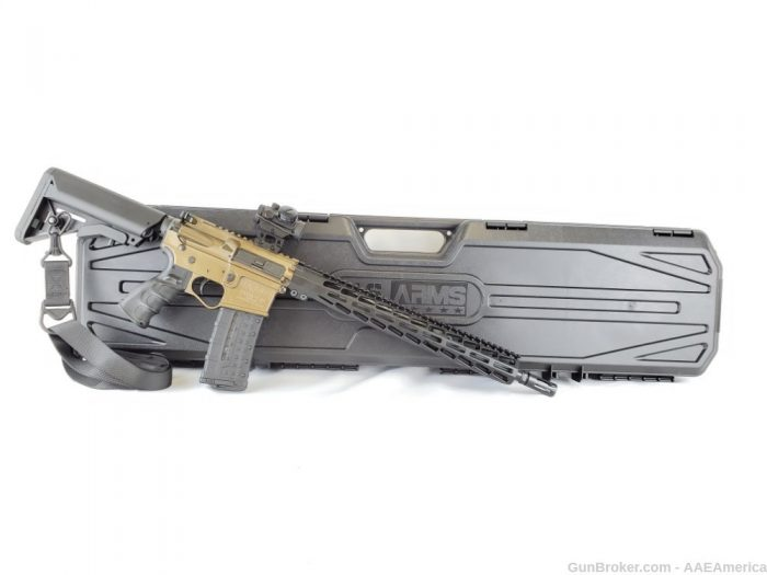 Private: US Arms Patriot-15 Rifle Package Burnt Bronze Cerakote