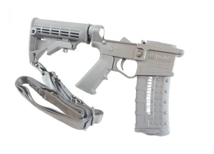 Private: U.S. Arms Patriot-15 Complete Polymer Lower Receiver AR-15