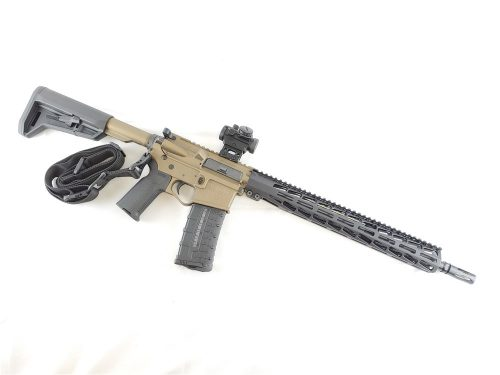 Private: U.S. Arms Patriot-15 5.56 Burnt Bronze Cerakote Range Ready Rifle Package