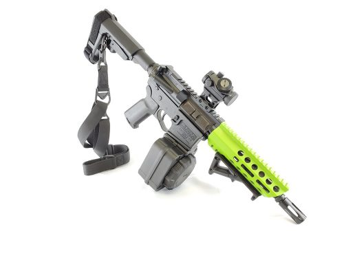Private: U.S. Arms AR-15 7.5″ Pistol 5.56 Zombie Green Cerakote NO CC FEES!