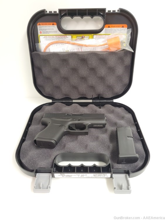 Private: Glock G43 9mm