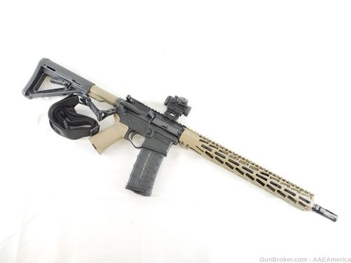 Private: U.S. Arms Patriot-15 5.56 Magpul FDE Range Ready Rifle Package